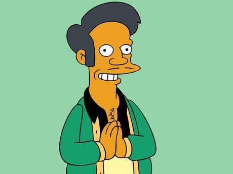 There were rumours Apu had been axed from The Simpsons last year. Picture: AP