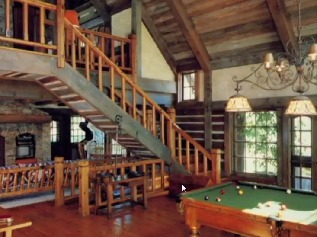 One of the rooms at Neverland Ranch. Picture: Leaving Neverland