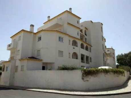 The apartment block in Portugal where Maddie went missing. Picture: Supplied