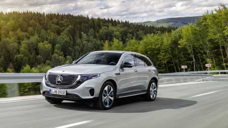The Mercedes-Benz EQ C is the brand's first mass produced electric car.