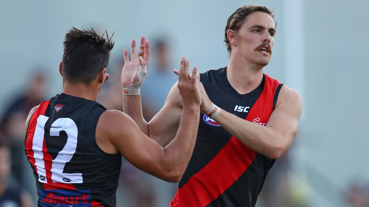 Joe Daniher of the Bombers.