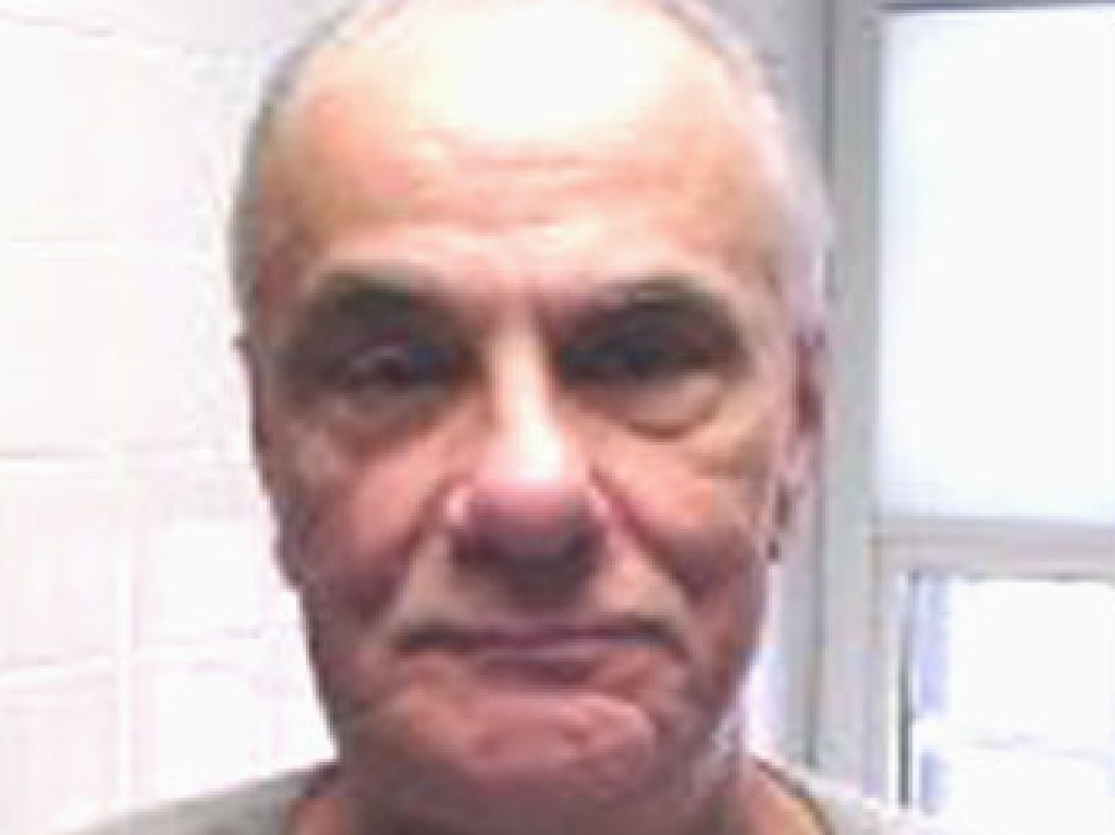 The last picture of John Gotti from October 17 2001, months before he died. Picture: Supplied