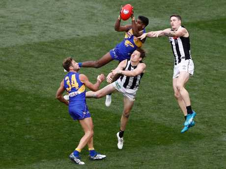 Liam Ryan was supposed to be sidelined too. (Photo by Daniel Pockett/AFL Media/Getty Images)