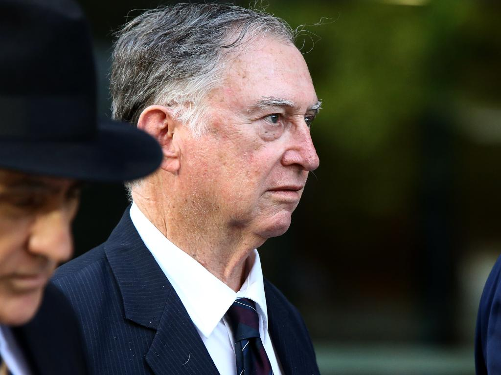 Michael Ambrose Endicott, a former priest and religious and science teacher at Villanova College in Coorparoo, was last week found guilty of indecently treating a young student by convincing him to strip naked and pose for photographs. Picture: AAP/David Clark