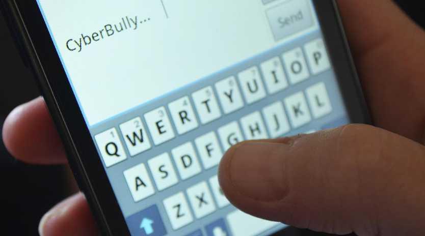 Generic photo - cyber bullying