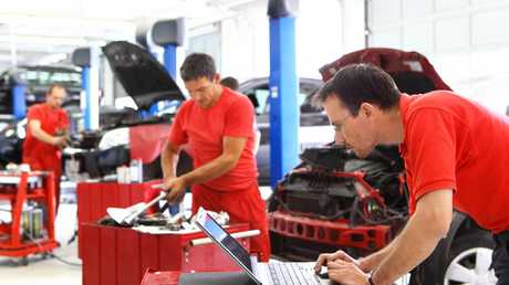 Having a mechanic look over the vehicle can take some of the risk out of buying a second hand car.