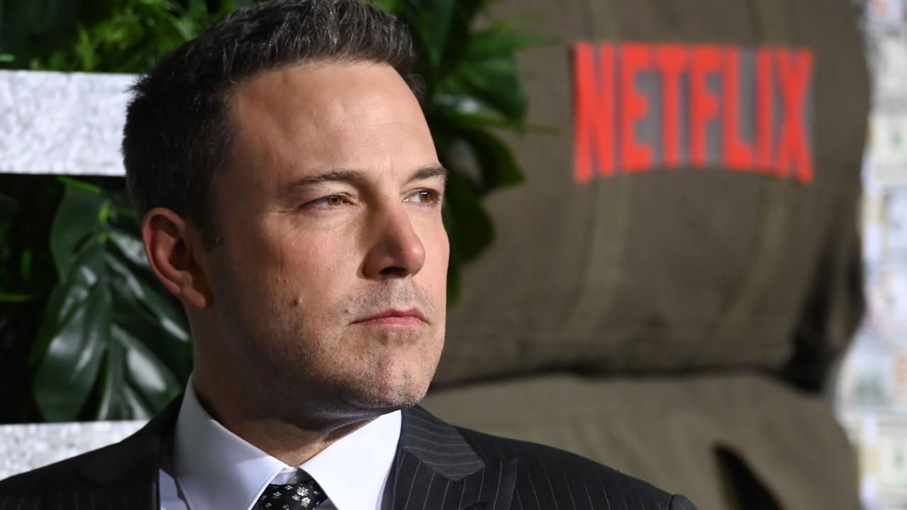 'It's meaningful'. Ben Affleck has opened up about his OTT back tattoo, saying he actually likes it. Picture: Getty Images