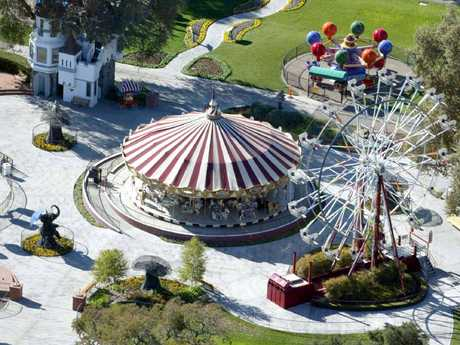 More fairground attractions at the Ranch. Picture: Stewart Cook/REX/Shutterstock