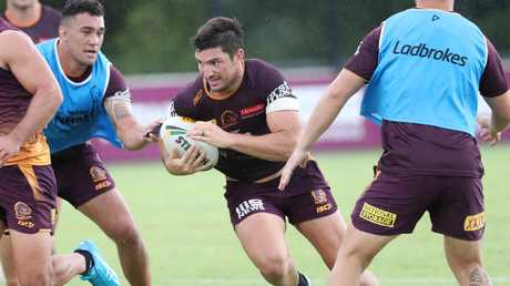 Matt Gillett has been learning to change his game since shifting from the second row to lock.