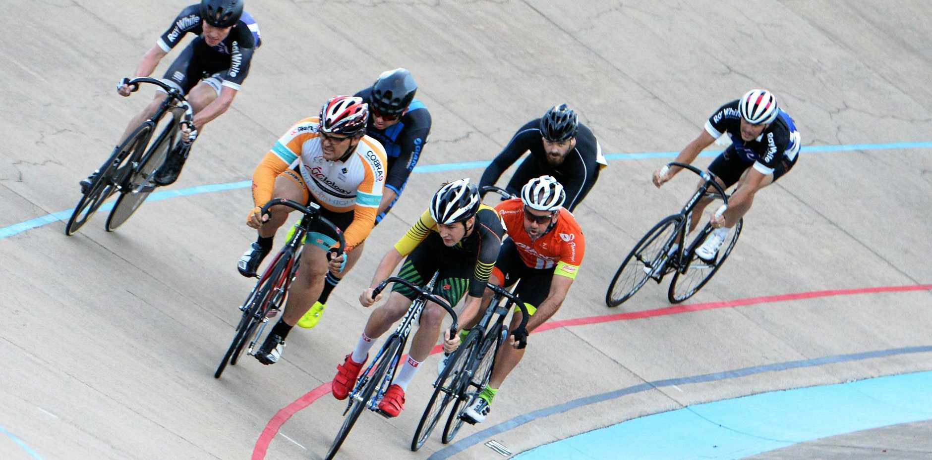 The Rockhampton Cup on Wheels continues at the Kenrick Tucker Velodrome today.