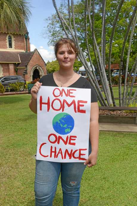 Melissa Christi said the industry she was studying would no longer exist if climate change continued to worsen.