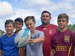 Queensland rugby coach looks for next Olympians in Gympie