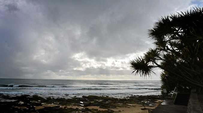 Overcast skies on the Sunshine Coast herald a gloomy start to the weekend.
