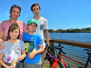 'Cam would be proud': Kids pedal on to remember dad's fight