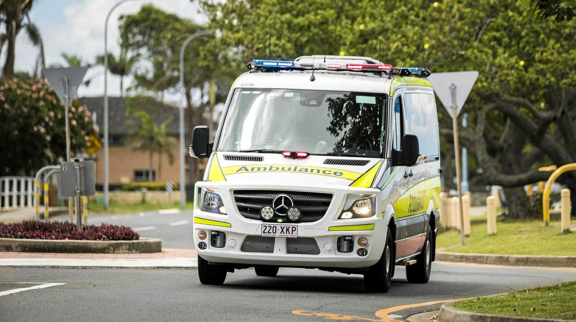 Queensland Ambulance Service Geebung crew at Sandgate & Brighton