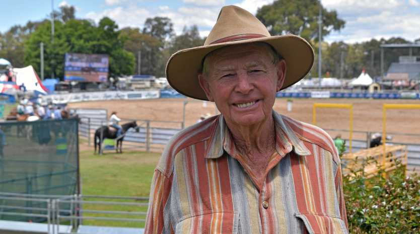 SHOW TIME: Chief steward of the sheep dog trials Jack Dwan said he has seen a lot of changes over the decades.