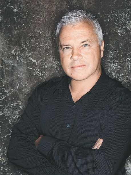 Author Matthew Condon