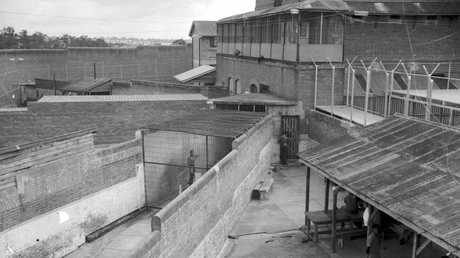 One of the four cages at the Boggo Road Jail used to keep unruly prisoners away from others.