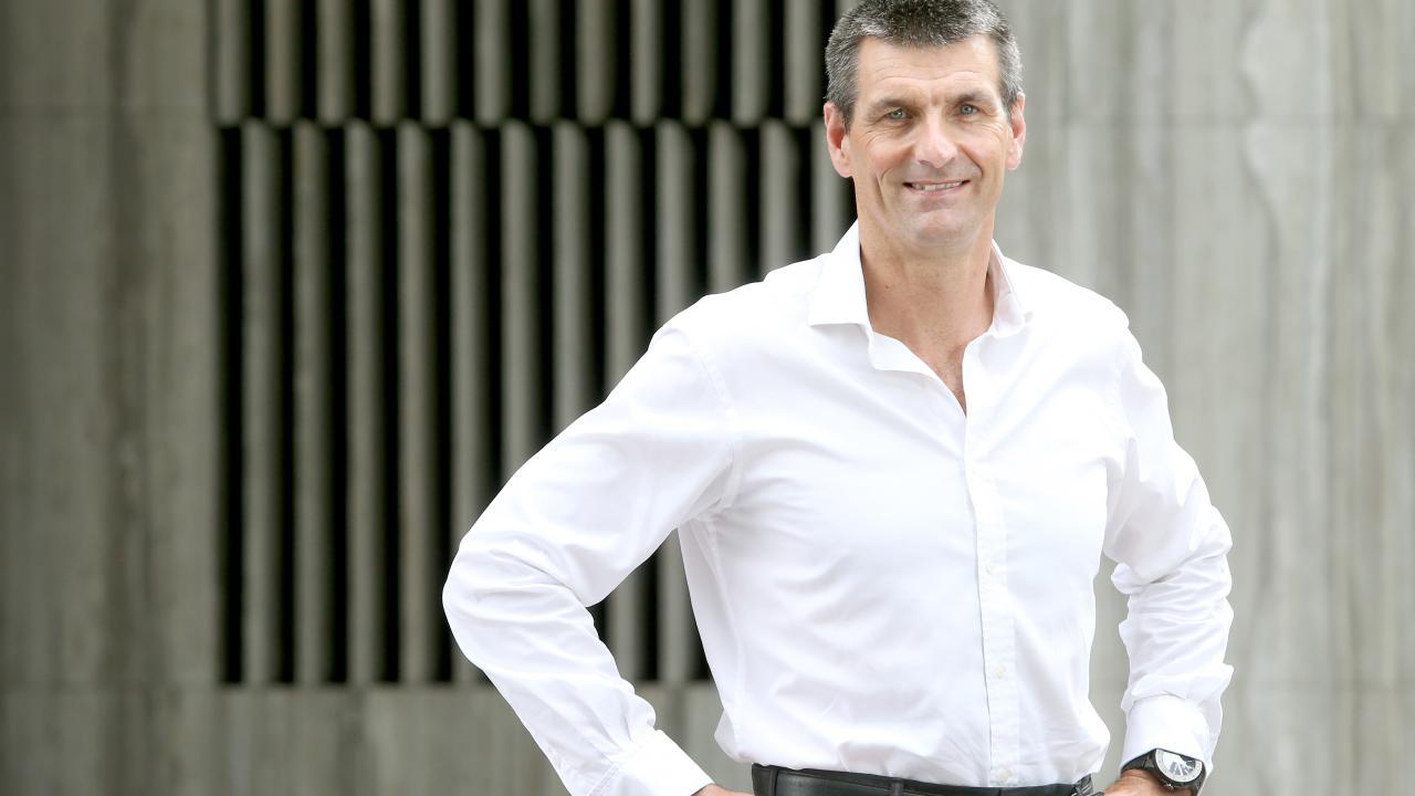 Martin Barrett, CEO of Auswide Bank. Picture: Jono Searle.