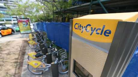 Brisbane City Council's CityCycle initiative. File photo.