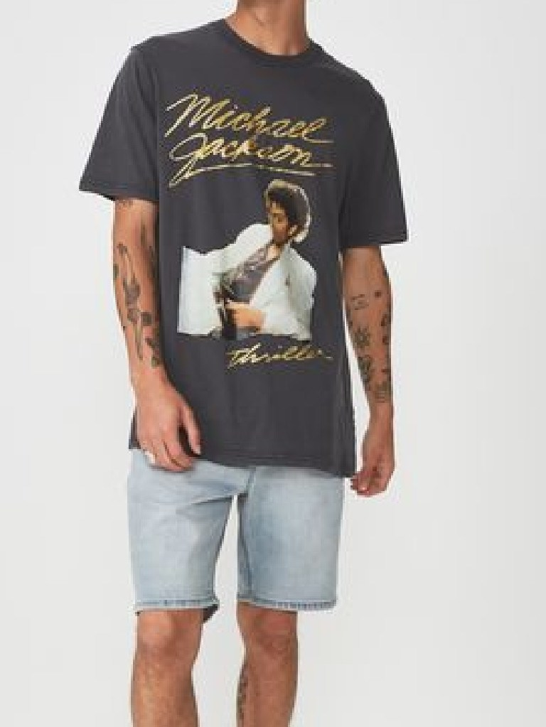 A Michael Jackson tee from the men's range. Source: CottonOn.com
