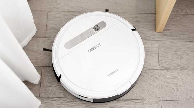 The robot vacuum - which usually retails for around $600 - was selling at the red hot price of $299. Picture: Supplied. Source: Aldi