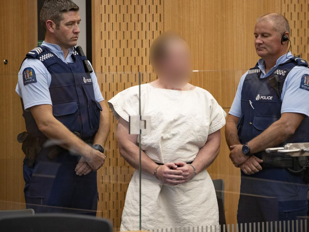 Brenton Tarrant has been charged in relation to the Christchurch mosque massacre. Picture: Mark Mitchell/AAP