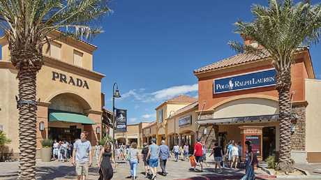 If you've been fantasising about a luxury purchase, the Desert Hills Premium Outlet is where you'll probably be able to afford it.