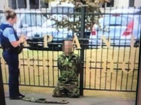 Stephen Millar says he was wrongfully arrested because he wore camouflage clothing. Picture: Supplied