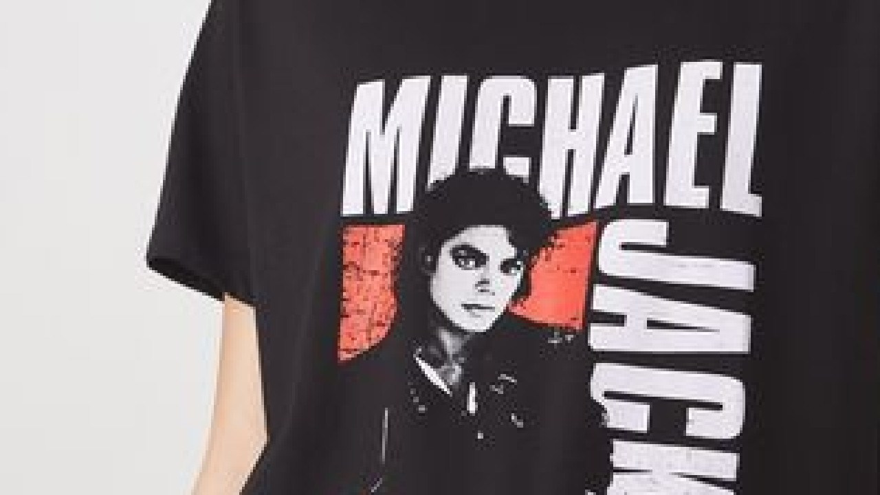 Michael Jackson tees (like the one above) are no longer available nationwide. Source: CottonOn.com