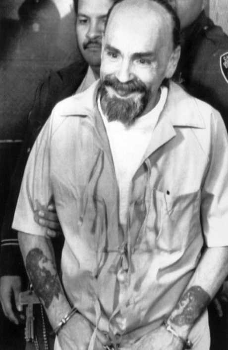 Convicted murderer and cult leader Charles Manson in 1996.