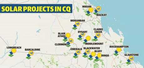 SOLAR ROLL OUT: Solar projects are rolling out throughout Central Queensland.