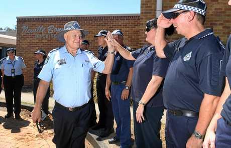 Senior Sergeant Gareth James has retired.