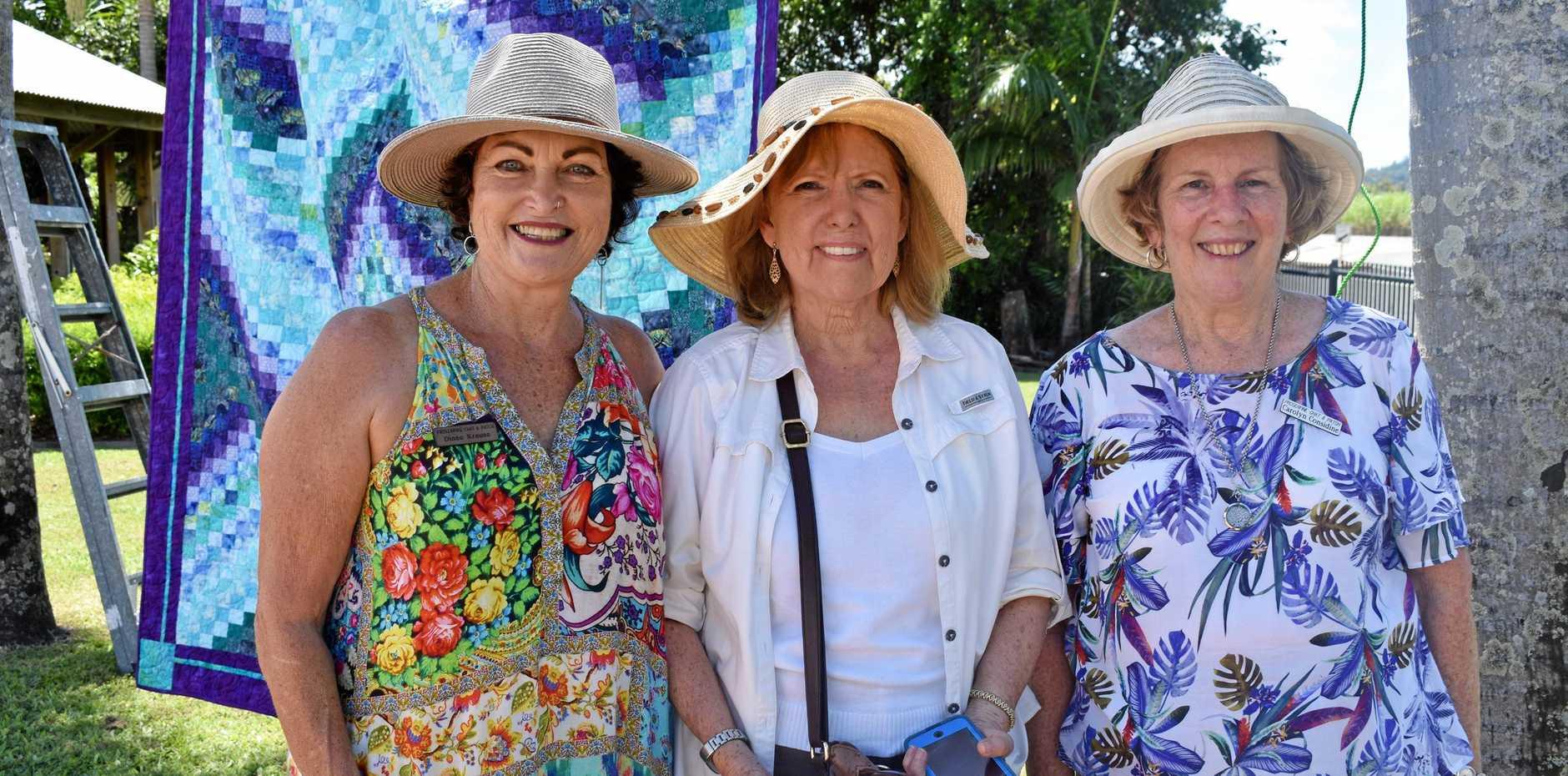 Diane Krause, Sharon Brower from South Texas and Caroline Considine.