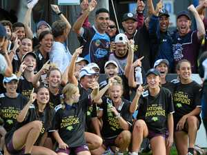 Sharks surge to national glory