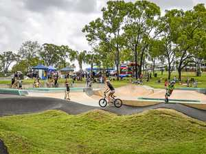 Boyne Island skate park and pump track opening