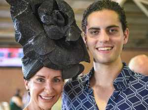 PHOTO GALLERY: Sky high fascinator fascinates at the races