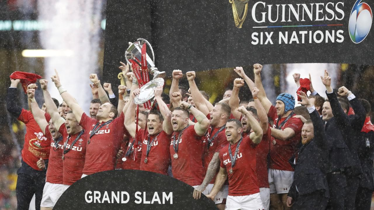 Wales are celebrating another grand slam Six Nations win which has boosted their momentum ahead of the World Cup.