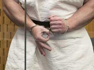 Gunman's cruel hand gesture in court