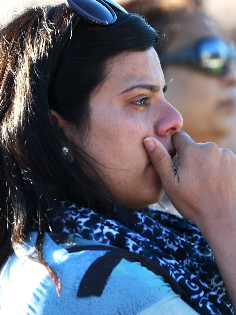 Wellington Vigil held at the Basin Reserve. Picture: Elias Rodriguez/Getty Images