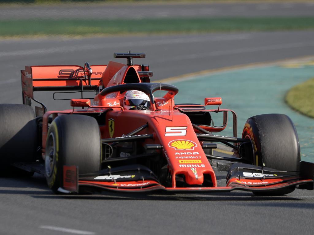 Sebastian Vettel was sluggish in his Ferrari.