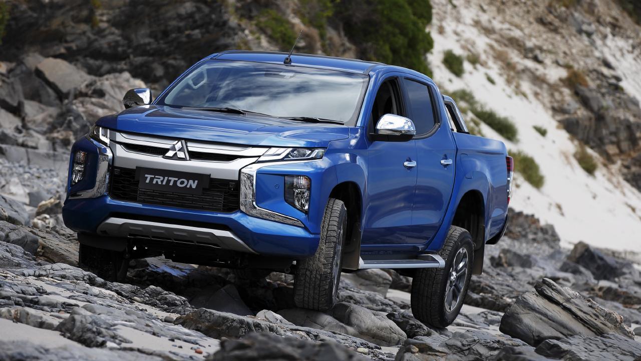 2019 Mitsubishi Triton.