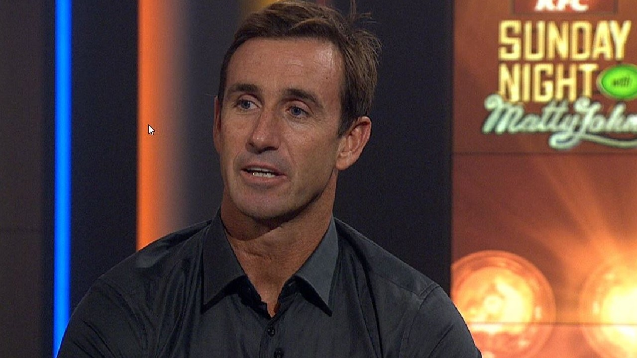 Andrew Johns speaks out on his epilepsy and history of concussions.