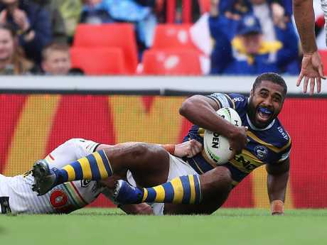 Parramatta's Michael Jennings then became the hero.