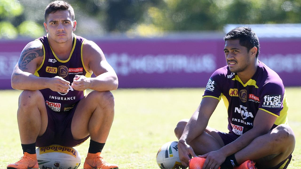 Kodi Nikorima and Anthony Milford are not the halves pairing Brad Fittler would use at the Broncos.