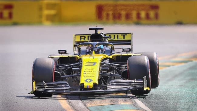 Daniel Ricciardo in action during qualifying. Picture: Alex Coppel