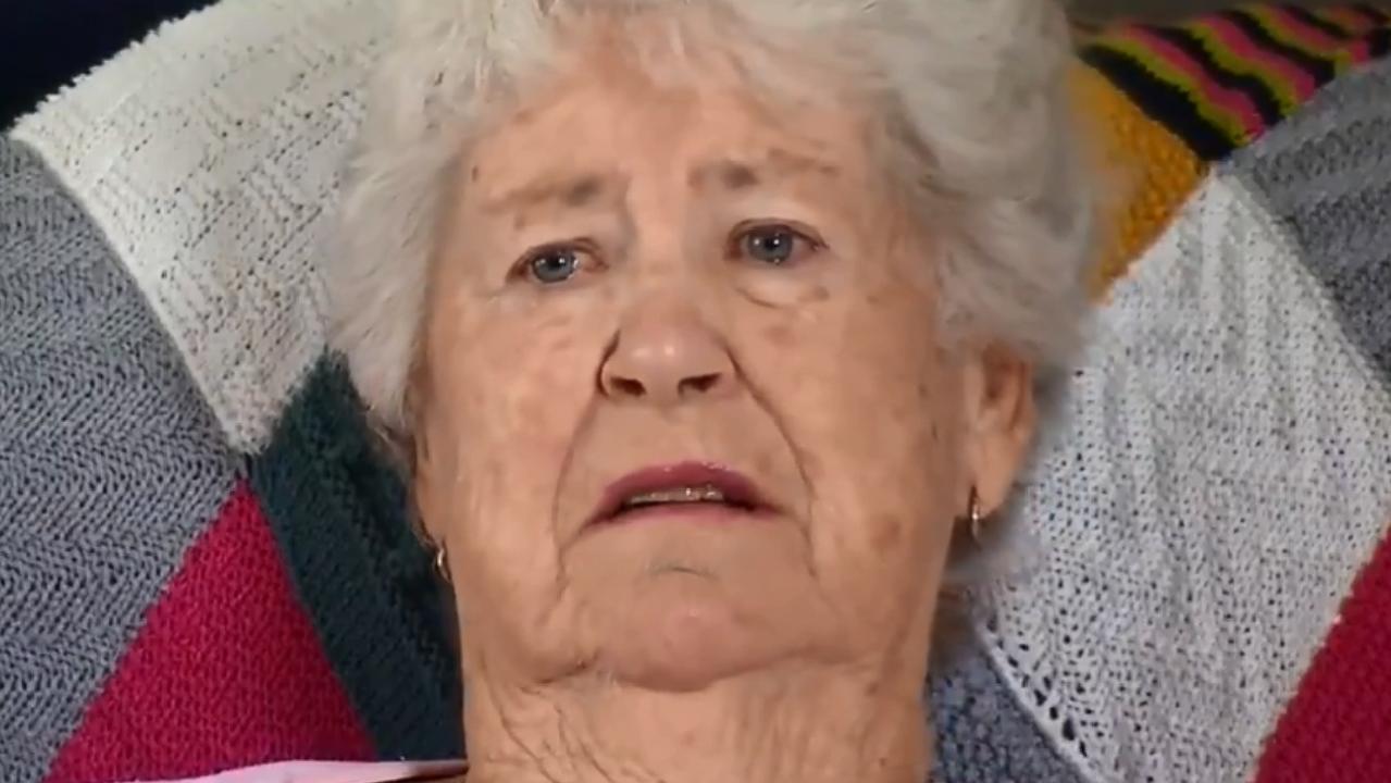 Marie Fitzgerald, grandmother of accused gunman Brenton Tarrant. Picture: Twitter/Nine