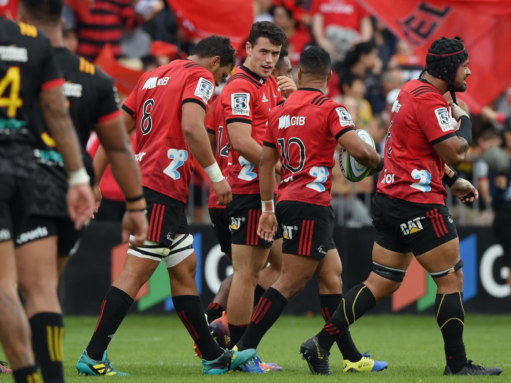 The Crusaders scraped their game against the Highlanders at the weekend as a mark of respect to those caught up in the Christchurch shootings.