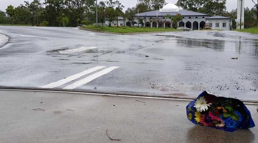 A Browns Plains man has been charged after a car was driven into the front gates of the Stockleigh Mosque last night.