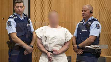 The man charged, Brenton Harrison Tarrant. Picture: AAP
